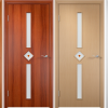 Different color of laminated cover doors