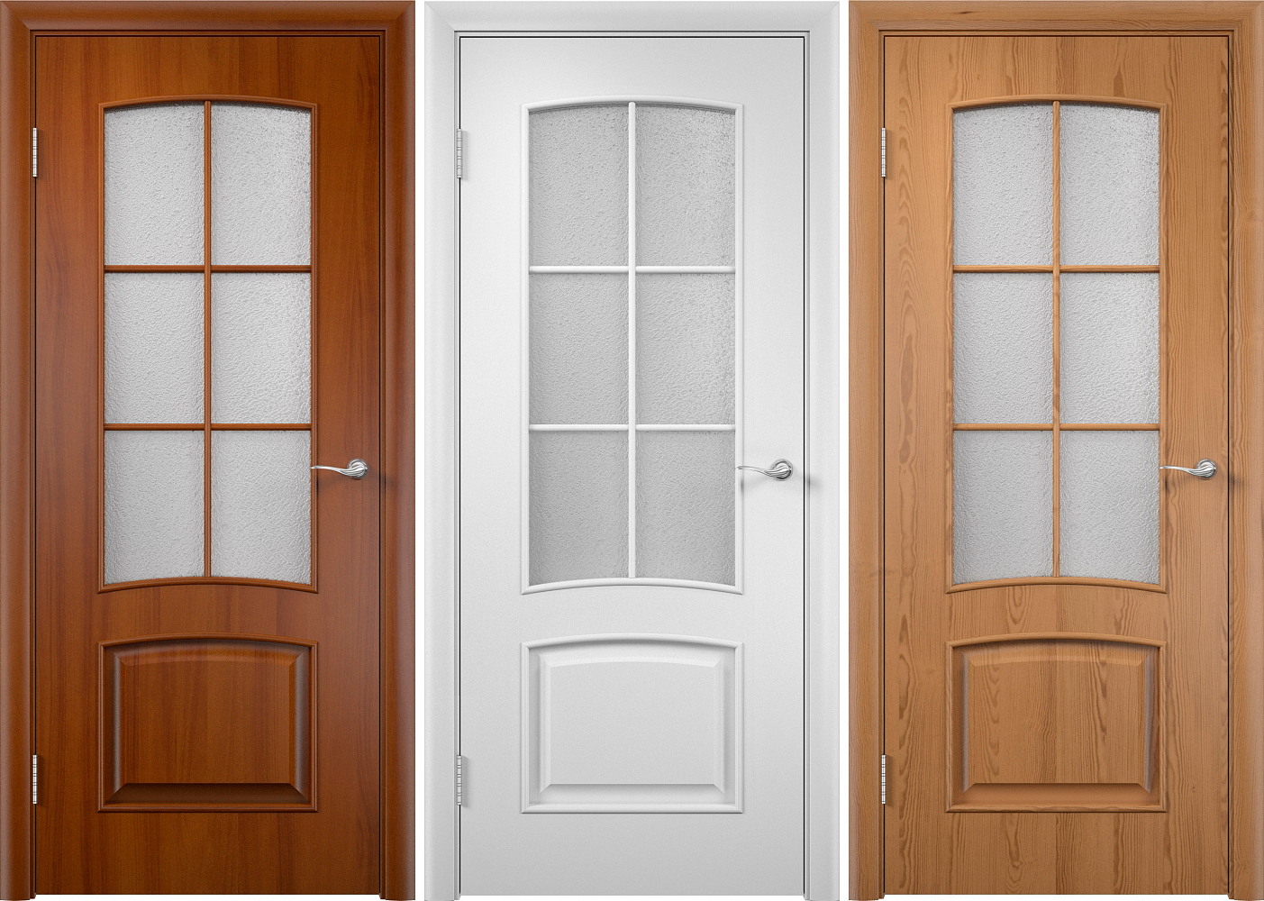 Lamination - decorative finishing of interior doors