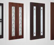 Modern laminated double doors