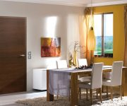 Veneered door for dining room
