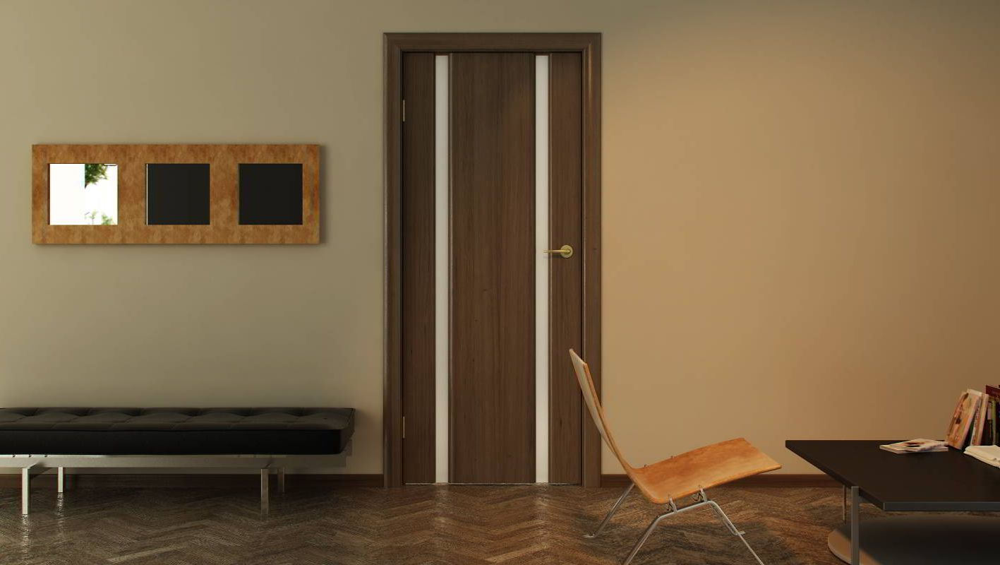 Veneered interior doors