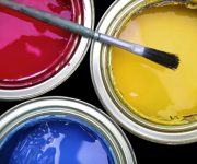 Acrylic paint for the doors 180x150 - How to paint a door with your own hands
