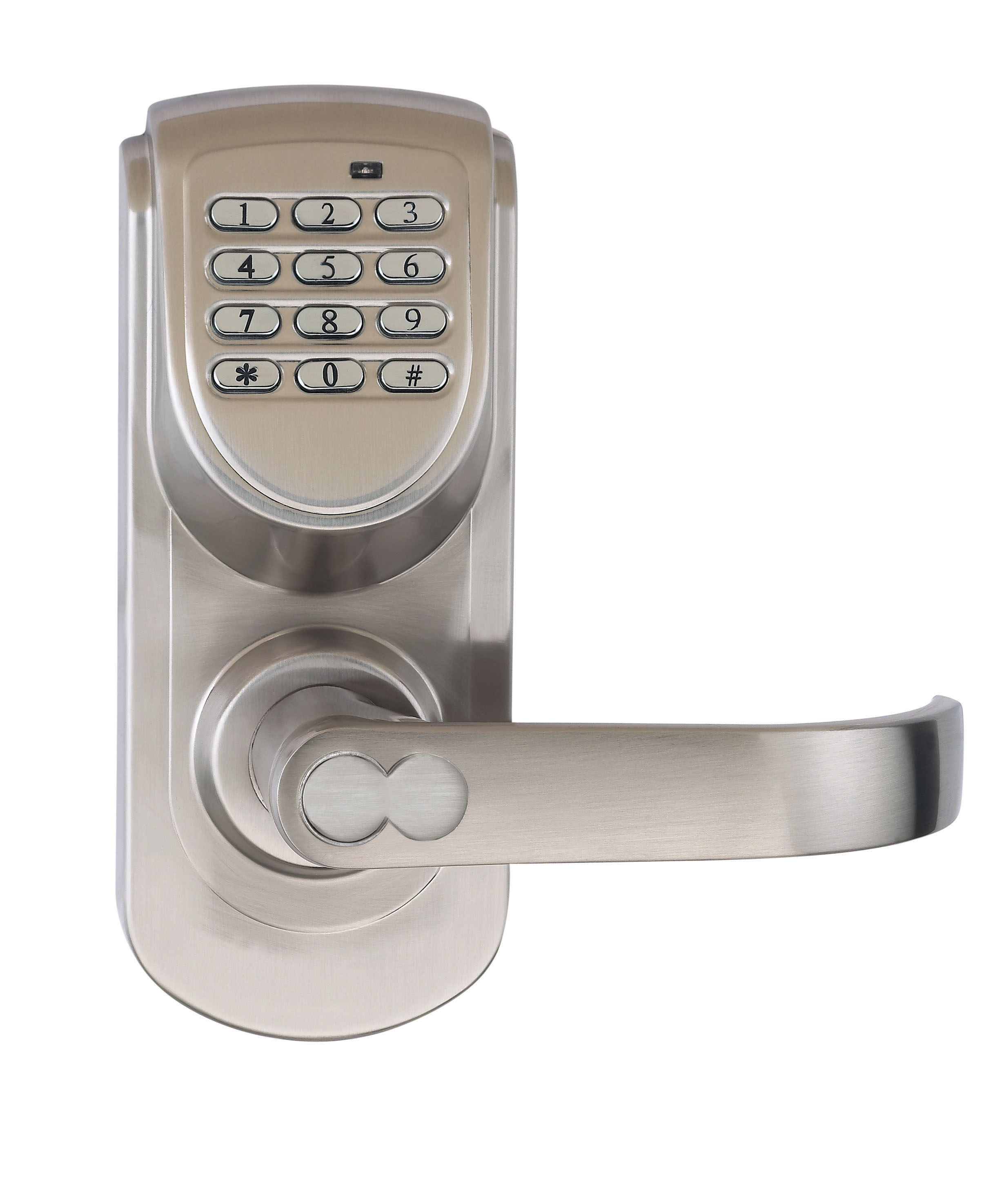 Combination door lock