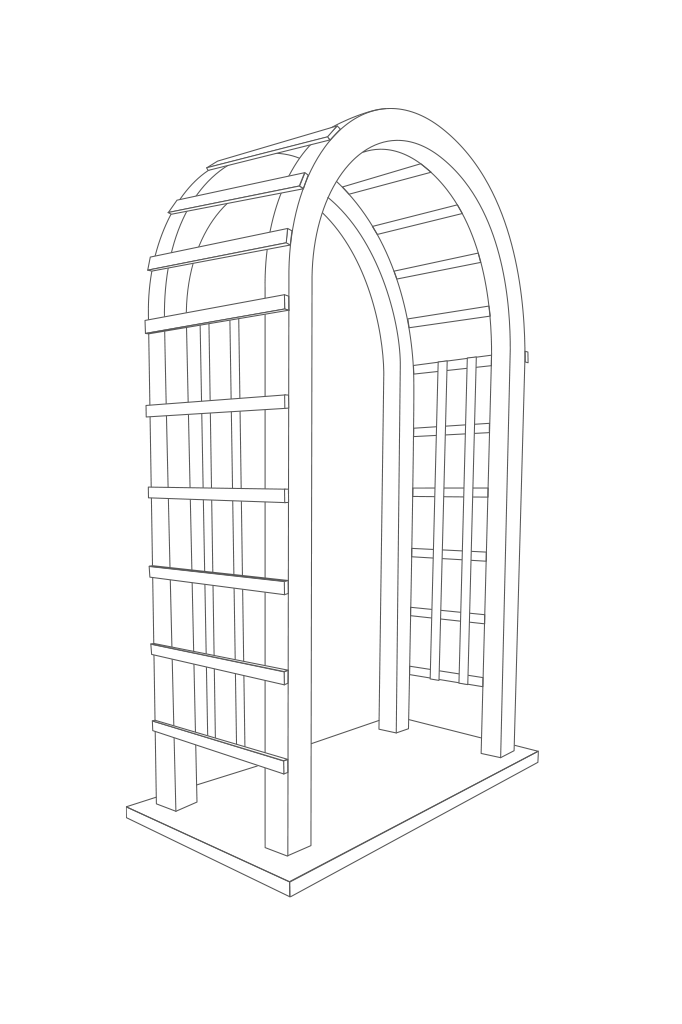 Drawing arch for home