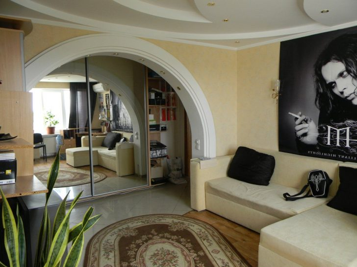 Home arch 728x546 - Arch in Kitchen: Types and Installation