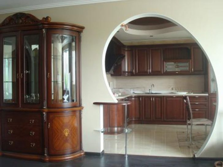 Arch Door Kitchen