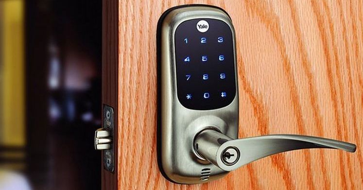 Modern Electronic coded lock