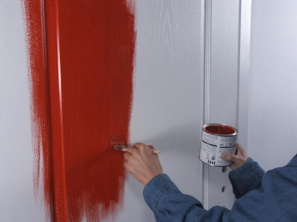 Painting doors photos