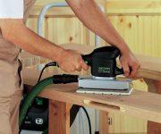 Sanding wood machine