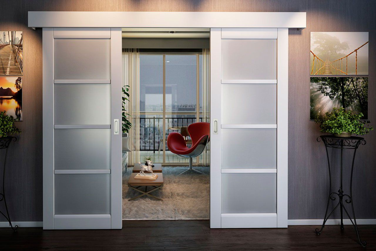 types of sliding interior doors all about doors. Black Bedroom Furniture Sets. Home Design Ideas