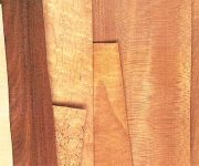 The color of the veneer
