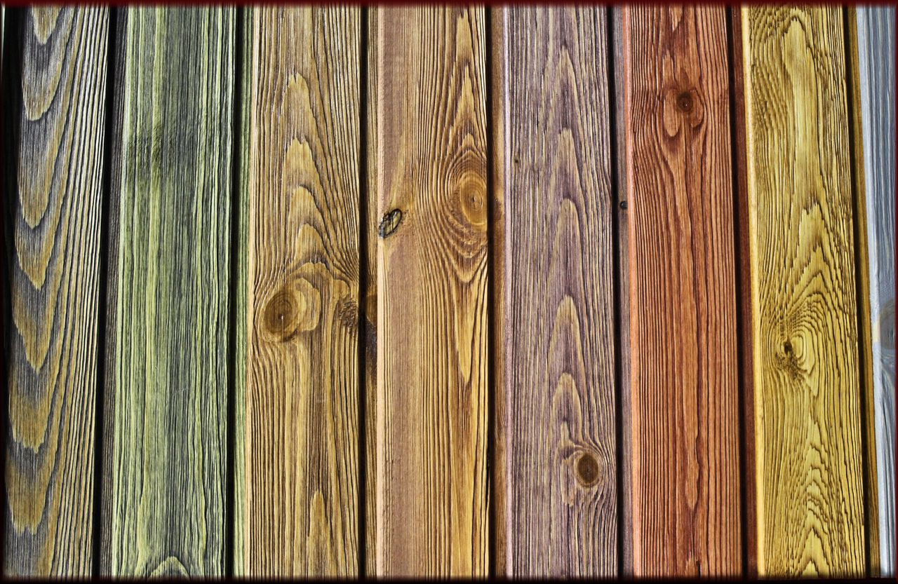 Types of stains for wood