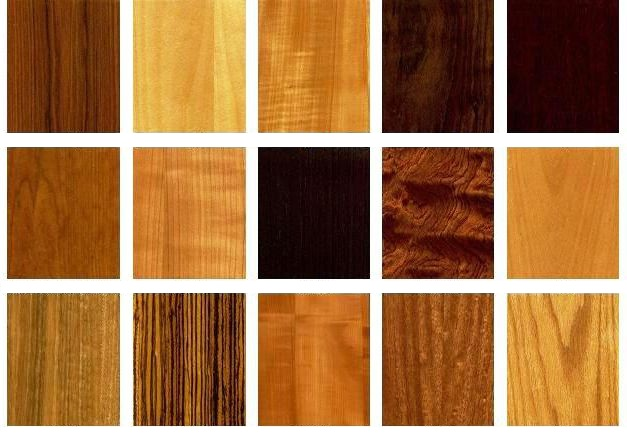 Types of veneer for Types of wood doors are made of