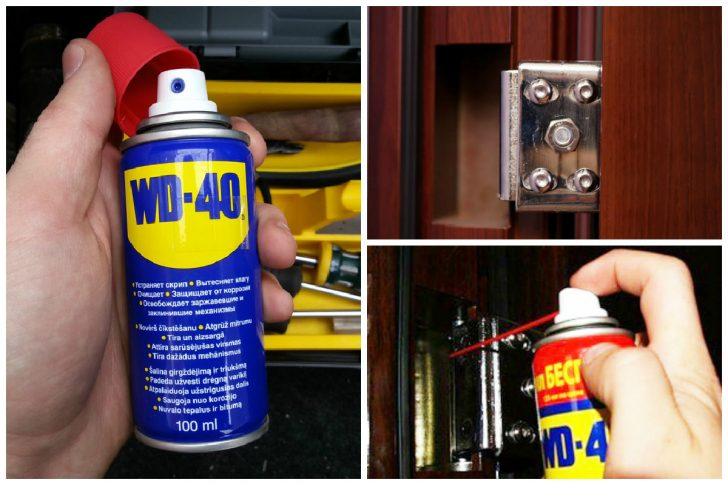 WD 40 uses for lubrication