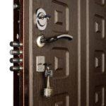 What is the weight of a metal front door?