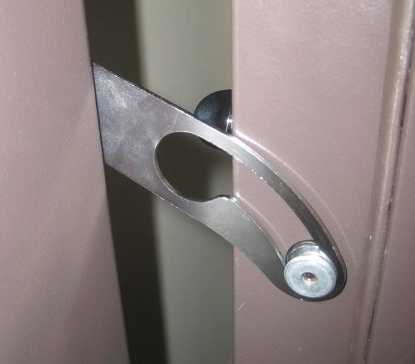 Door stop metal