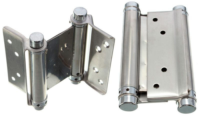 Double-sided hinges