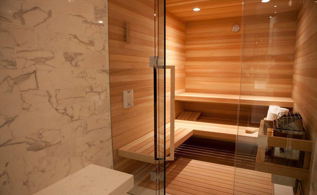Choice Of Glass Doors For Sauna