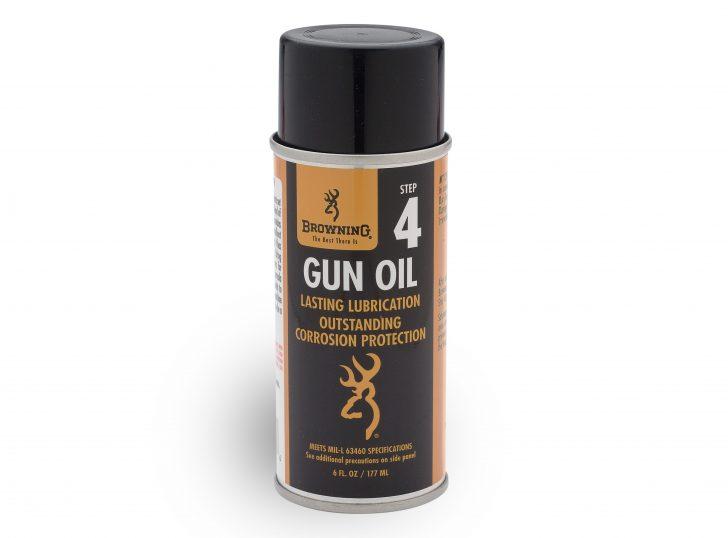 Gun oil aerosol