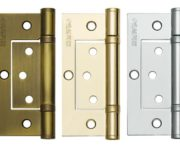 Hinges for interior doors