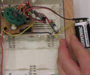 Installation of the wireless doorbell