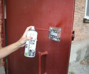 Lubricating a combination lock WD 40 aerosols 180x150 - How to lubricate entry doors and what to use