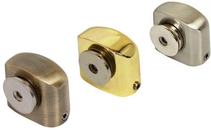 Magnetic door stopper 728x448 - Door stoppers or holders: functions, types, installation