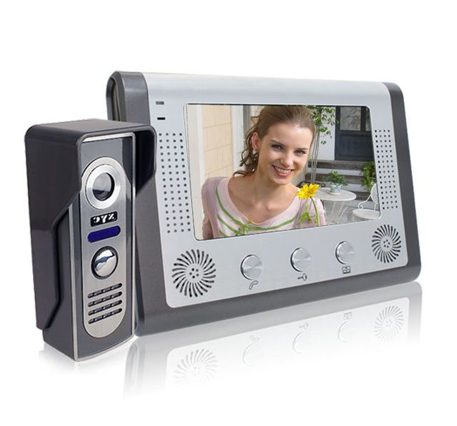 Video door phone - Video call for a front door in an apartment. Video door phone.