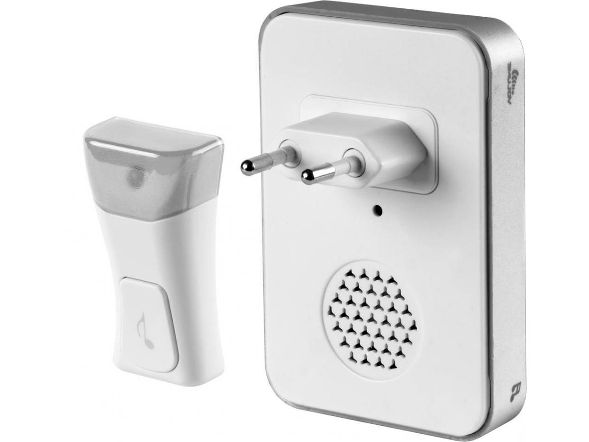 Wireless doorbell for an apartment