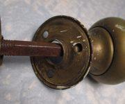 Antique vintage brass door knob