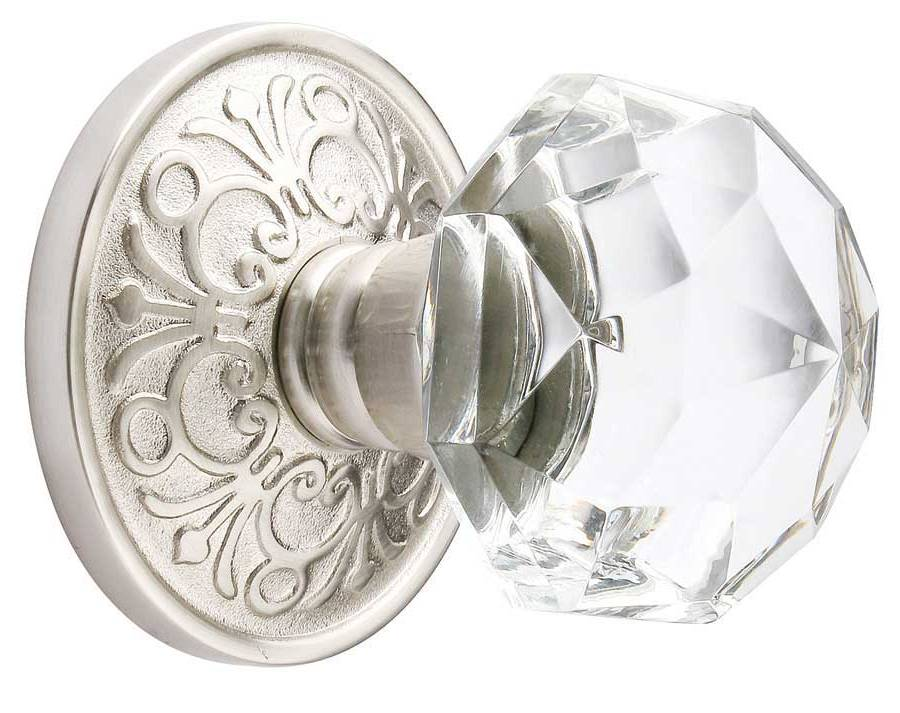 Crystal interior door knobs