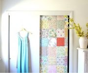 Decorating doors patchwork