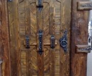 Door stylized antique