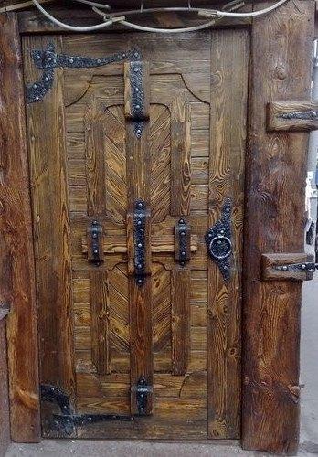 Door stylized antique