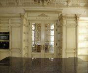 Elite doors antique stylized to the kitchen