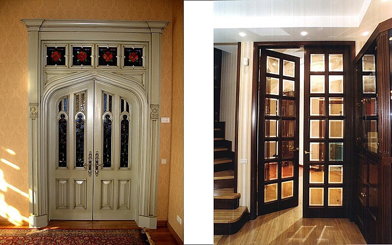 Elite doors, stylized antique