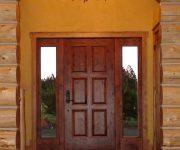 External solid wood door