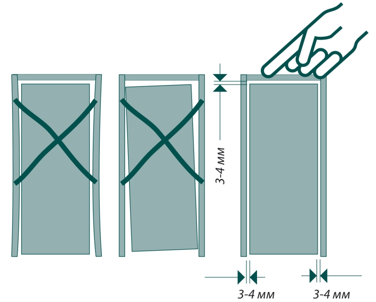 Gap doors