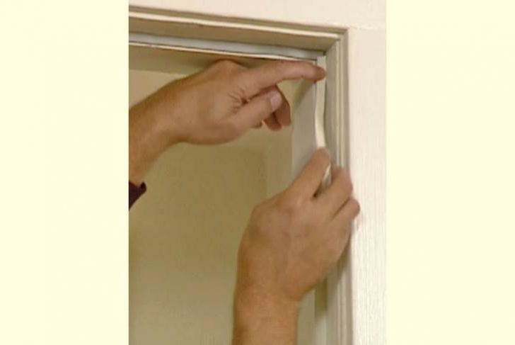 How to create gaps when installing interior doors