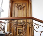 Luxurious entrance door antique style