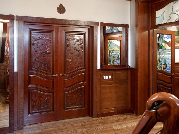 Luxury oak doors