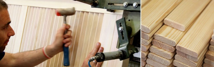 Making of interior doors