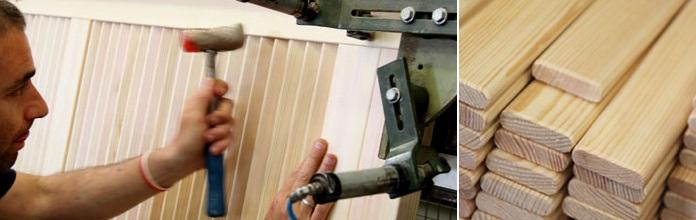 Making of interior doors