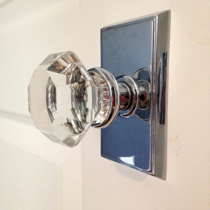 Modern Interior glass door knobs