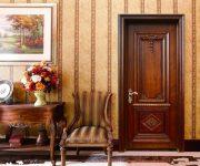 The vintage doors of elite varieties of wood