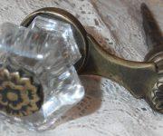 Vintage Crystal Door Knob