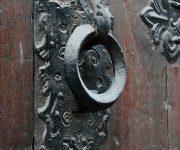 Vintage door knobs