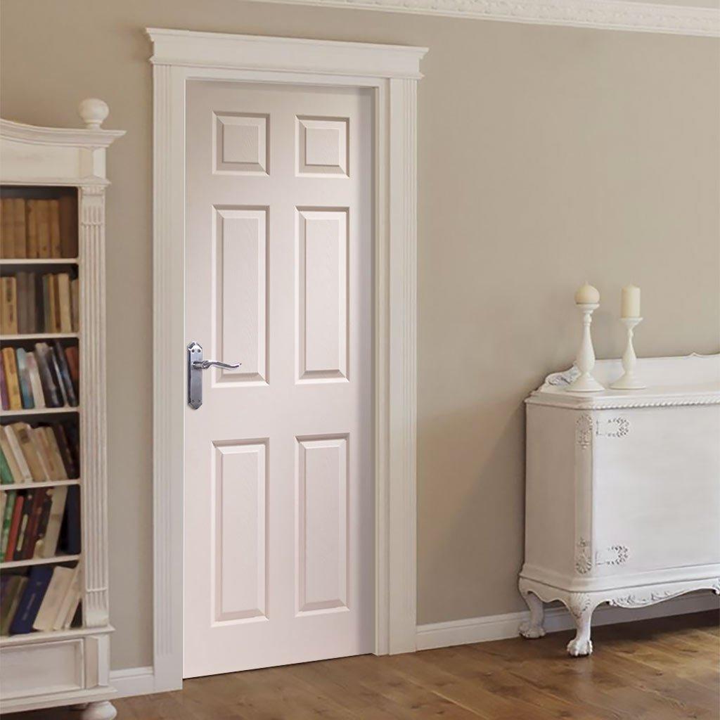 White interior doors photo