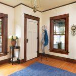 White Interior Doors in Apartment Design