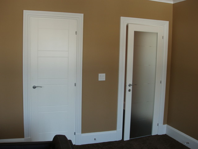 White Interior Doors white interior doors with black hardware photo